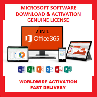 Microsoft Office activation key Professional Plus 2016 For Mac & Windows-For 5PC