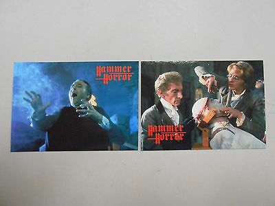 1995 Hammer Horror promo card lot of 2! P1 and P2! NM/MN! CHECK IT OUT!