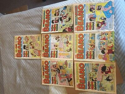 BEANO COMICS  - Job lot, assorted, see picture for issues