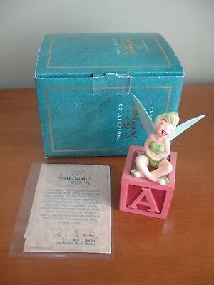 """WDCC Walt Disney Peter Pan Tinker Bell """"A Firefly! A Pixie! Amazing!"""" LE"""