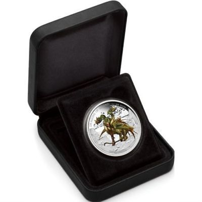 Dragons of Legend - Three-Headed Dragon 2013 1oz Silver Proof Coin
