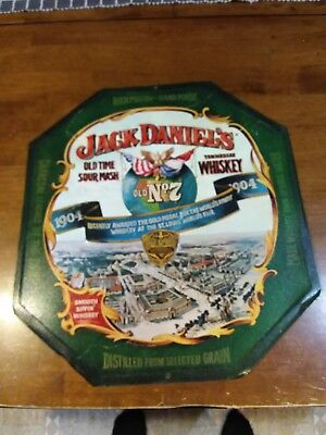 Jack Daniels Old Time Sour Mash Tennessee Whiskey Metal Sign