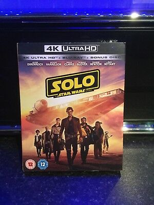 Solo: A Star Wars Story (4K Ultra HD + Blu-ray) [UHD]