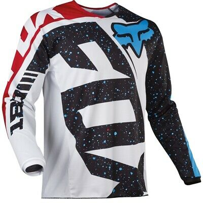 New Fox Youth 180 Nirv Jersey - Red/White