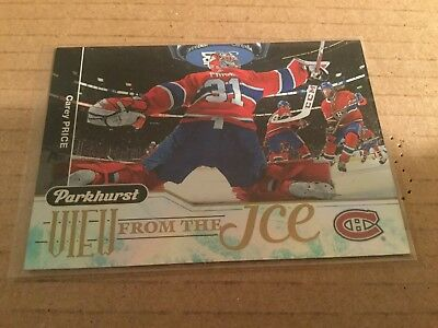 2018-19 Parkhurst View From The Ice Carey Price Montréal Canadiens