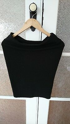 Ripe Maternity Black Corporate/office Skirt, Size XS (suit 8)