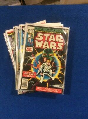 Marvel: Vintage Star Wars Lot Includes Issue 1 First Print.