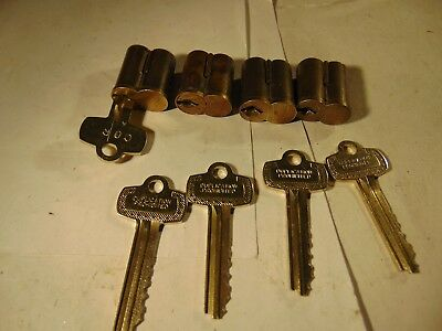 4 Best Lookalike  6 Pin A Keyway Cores With One Core Key And 4 Keys   Locksmith