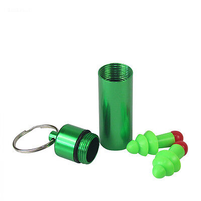 Tourbon Ear Plugs Hearing Protector Range Noise Reduce Earbuds Carry Case Green
