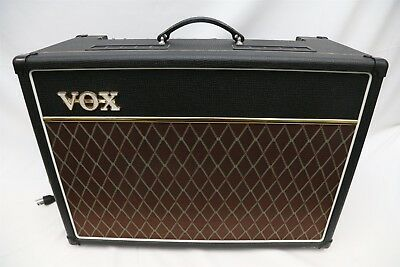"VOX AC15C1X 15w Custom Series 1x12"" Tube Combo Guitar Amplifier Celestion Blue"