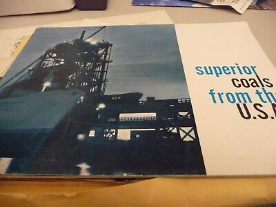"""Norfolk & Western coal ad booklet - """"Superior Coals from the U.S.A."""" 30 pages"""