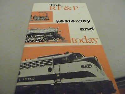 RF&P small ad booklet with short history - 1963 - 16 pages