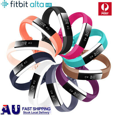 For Fitbit Alta HR / Alta New Replacement Silicone Wrist Band Secure Buckle AU
