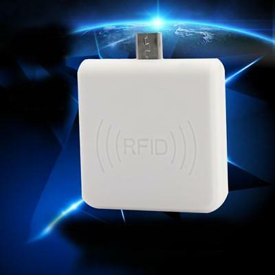 White 125KHz mini RFID ID Reader USB Interface Support Android Phone with OTG AC