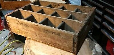 Vintage A-treat Reading Pennsylvania Wooden Crate Carrier soda crate