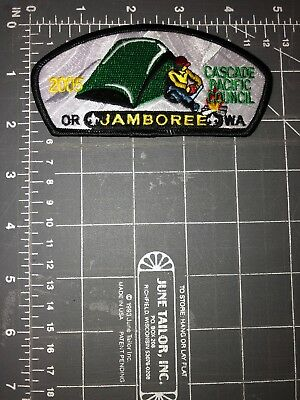 2005 National Jamboree Cascade Pacific Council OR WA Patch Boy Scouts of America