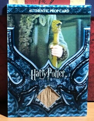 Harry Potter 3D Goblet Fire Prop card Durmstrang Staff P11 #109