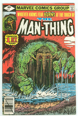 The Man-Thing #1 #2 #3 #4 #1-4 Run Marvel 1979 VF Combine Shipping Available