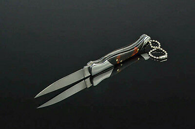 Original Wolf Pocket Knife Outdoor Hunting Camping Tool Saber With key Chain