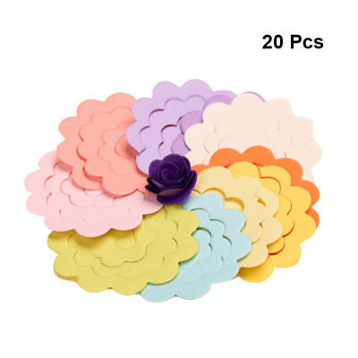 20pcs Origami Paper Rose Quilling Paper for Arts and Crafts Projects Kids Adults