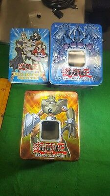 Yu-gi-oh! Card Collection Tin Lot and cards