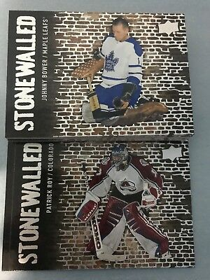 2018-19 Upper Deck Stonewalled you pick finish your set