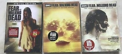 Fear the Walking Dead Seasons 1 2 3 / Season 1-3 New DVD 2018 Includes Free Ship