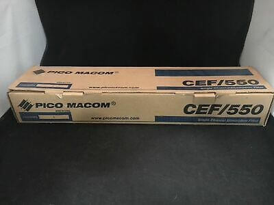 Pico Macom CEF/550 Single-Channel Elimination Filter (Channel 3)