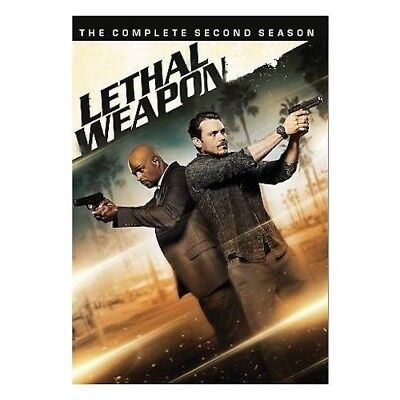 Lethal Weapon: The Complete Second Season 2 (DVD, 2018) New & Sealed Free Ship!