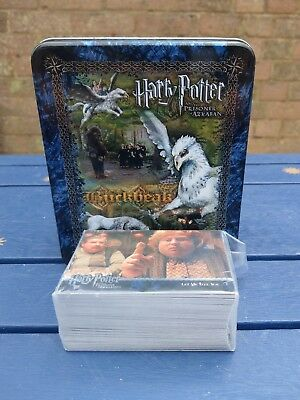 HARRY POTTER Prisoner of Azkaban Update Base Set Trading Cards + tin