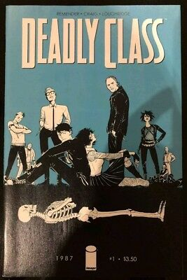 Deadly Class #1 Cover A 1st First Print syfy Show AMC Image Comics HOT series