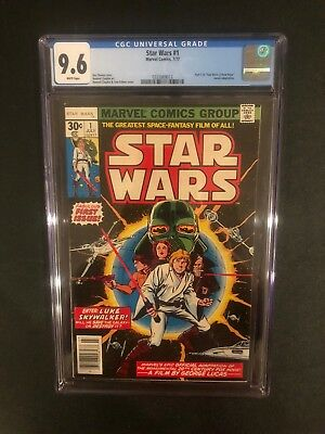 Star Wars 1 !! Cgc 9.6 !! White Pages !! Fantastic !!