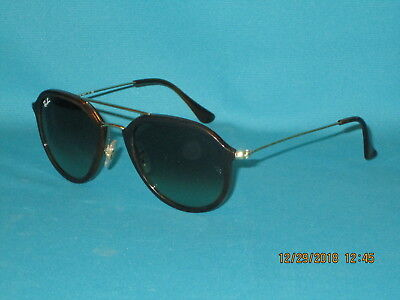 bede1f4f35 RAY BAN RB4253 820 A6 Brown Green Gradient Unisex Aviator Sunglasses 50mm