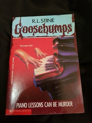 Goosebumps - Piano Lessons Can Be Murder #13