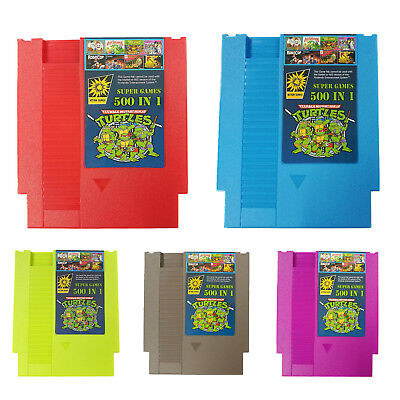 Super 500 IN 1 Best Games Collection Card For Nintendo NES Classic Cartridge