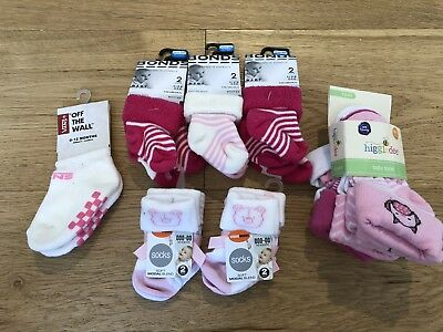 Mixed Baby Girls Socks