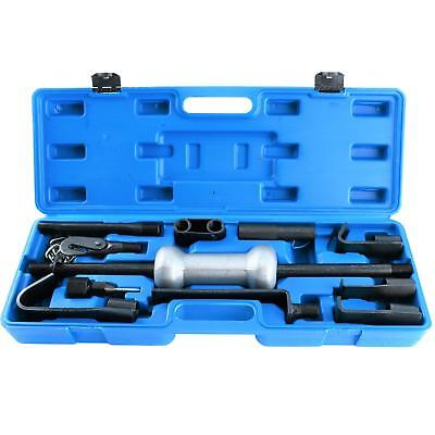 13PC Auto Body Dent Puller Tool With 10 LBS Slide Hammer Car Truck Repair Kit