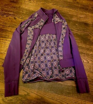 Ivivva Jacket And Matching Top, Size 8