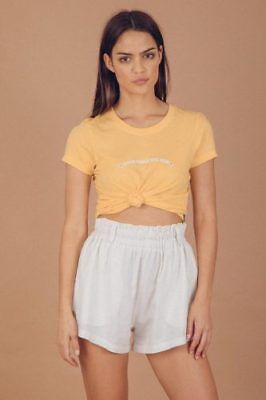 New Ladies Afends Here Comes The Sun Standard Fit Tee Mellow