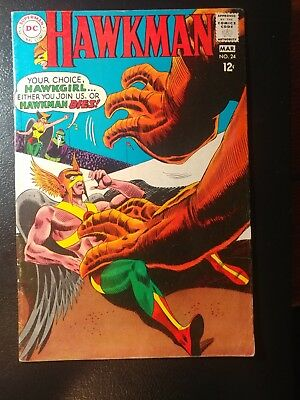 Hawkman #24 🐼  White Pages 1968