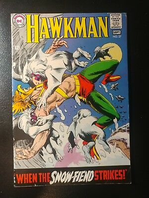 Hawkman #27 🐼  White Pages 1968