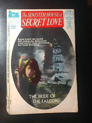 Sinister House Of Secret Love #3 🎅 White Pages Scarce / 1972