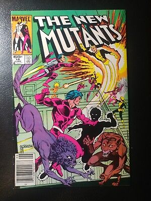 New Mutants#16🎅  White Pages / 1St App. Warpath / 1984 Newstand Variant