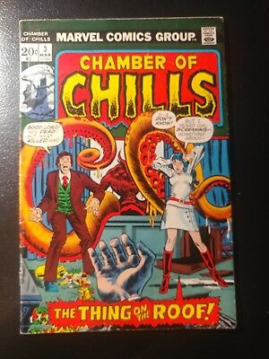 Chamber Of Chills #3 🎅  White Pages 1971