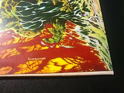 Swamp Thing #9 🎅 Ow/white Pages 1974 Bernie Wrightson