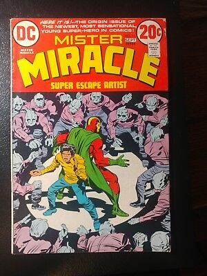 Mister Miracle #15🐲 1St App Shilo / White Pages 1973 Movie(S) Soon