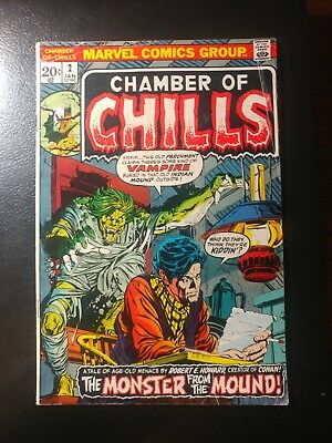 Chamber Of Chills #2 🎅  White Pages 1971