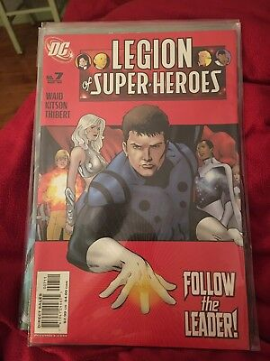 Mint - In Protective Plastic. DC Comics Legion Of Superheroes #7 August