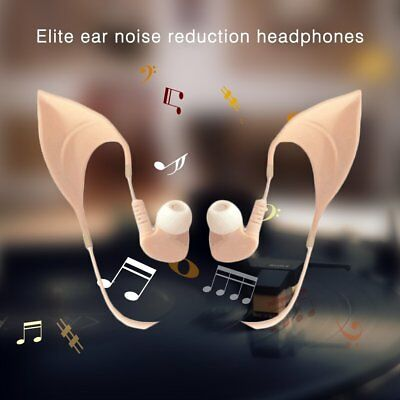 3.5mm Elf Ears Headset Cosplay Stereo Headphone Earphone for Samsung iPhone ti