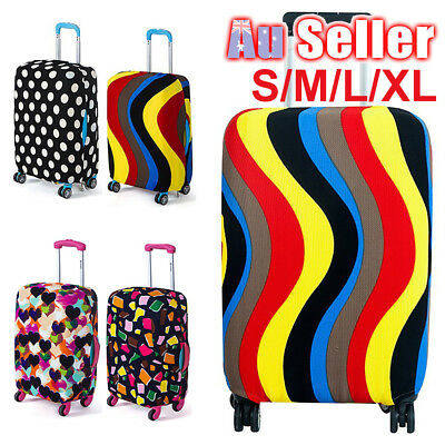 Travel Luggage Suitcase Case Cover Elastic Scratch New Dustproof Protector Bags